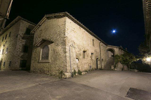 Borgo di Fonterutoli di notte