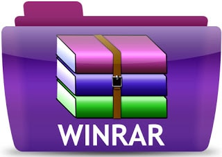 برنامج WinRAR