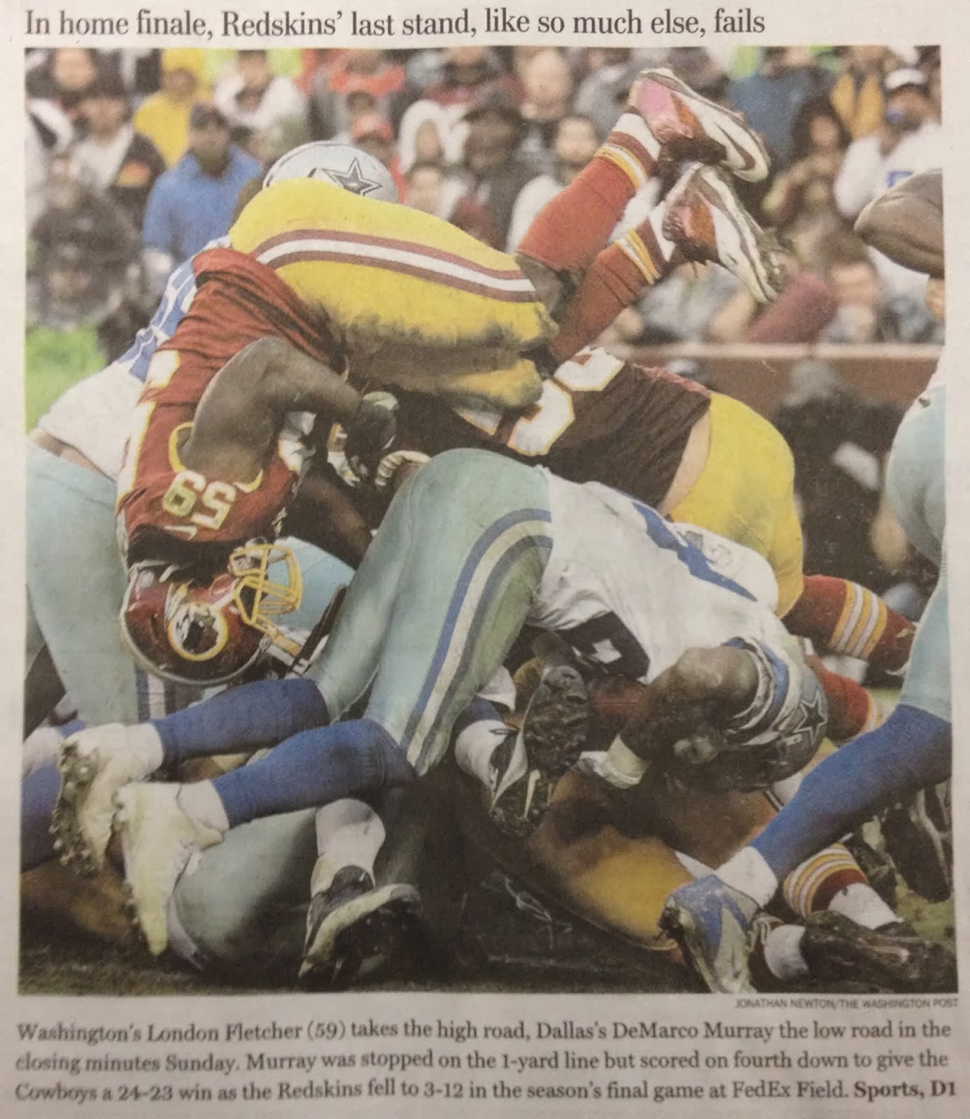 Why Do The Redskins Suck 116