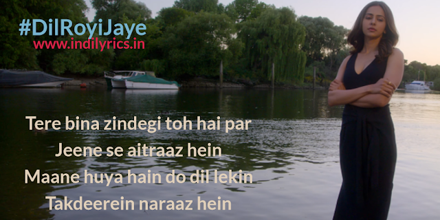 Dil Royi Jaye | Arijit Singh | De De Pyaar De | Full Song Lyrics with English Translation and Real Meaning | Rochak Kohli, Kumaar | Ajay Devgan, Tabu & Rakul Preet