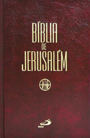 Imagem da capa da Bíblia de Jerusalém