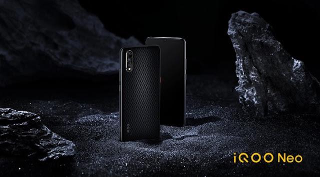 Vivo iQOO Neo hadir dengan prosesor snapdragon 845 dan baterai extra besar