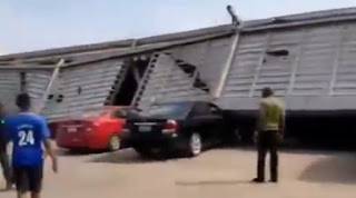 Many feared trapped as shopping mall collapses in Calabar (Video)