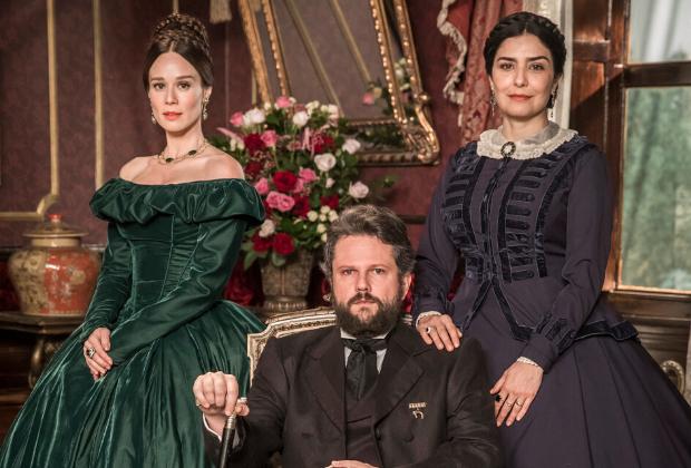 Globo define estreia de Nos Tempos do Imperador, nova novela das seis