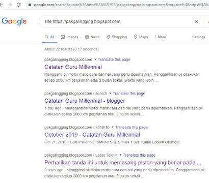 membuat blog kamu terindeks oleh google