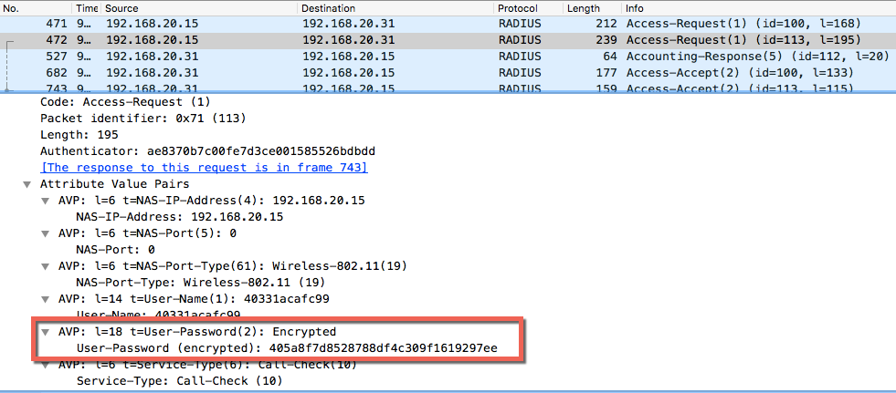 Troubleshooting: Decrypt RADIUS Packets in Wireshark | Get your Wi