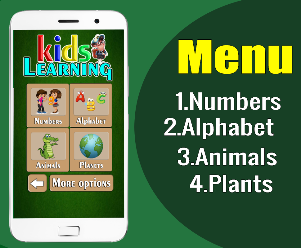 LEARNING KIDS - FULL EDUCATIONAL GAME FOR KIDS ( ANDROID STUDIO + ADMOB) - 6