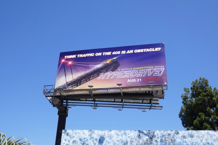 Hyperdrive series premiere billboard
