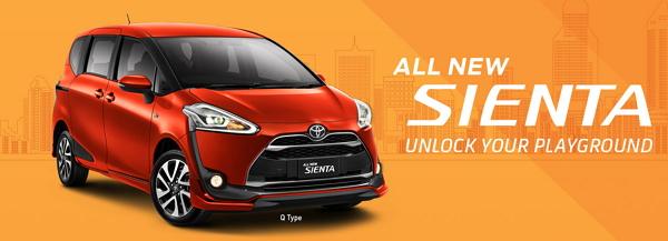 Spesifikasi Harga Toyota Sienta Bandung