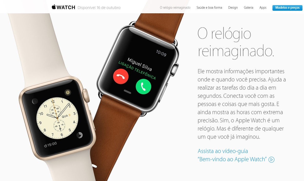 Apple Watch - 16 de outubro