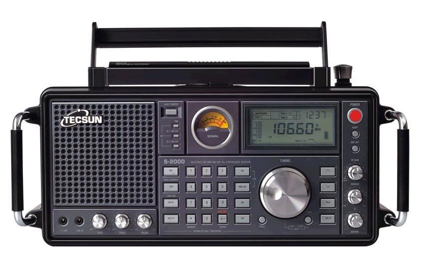 Радиоприемник Tecsun S-2000 по летней цене!