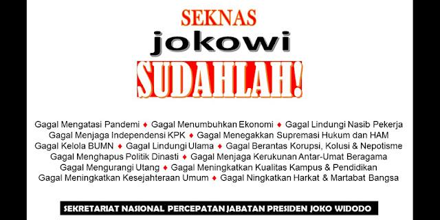Kemunculan SJS untuk Mengingatkan Rakyat Bahwa Jokowi Sudah Tidak Layak Memimpin Negeri Ini