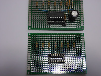 Fig. 5 - Ecco i 7 resistori montati - Foto di Paolo Luongo