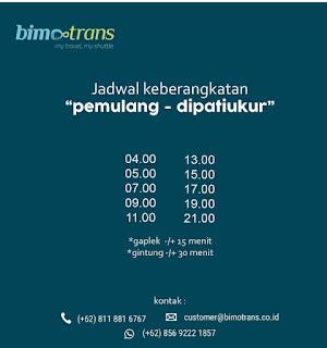 Jadwal Travel Pamulang Bandung