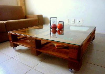 Kitar Semula-recycle idea Meja dari Pallet Terbuang