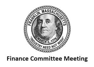 Franklin, MA: Finance Committee - Agenda - Nov 9, 2020