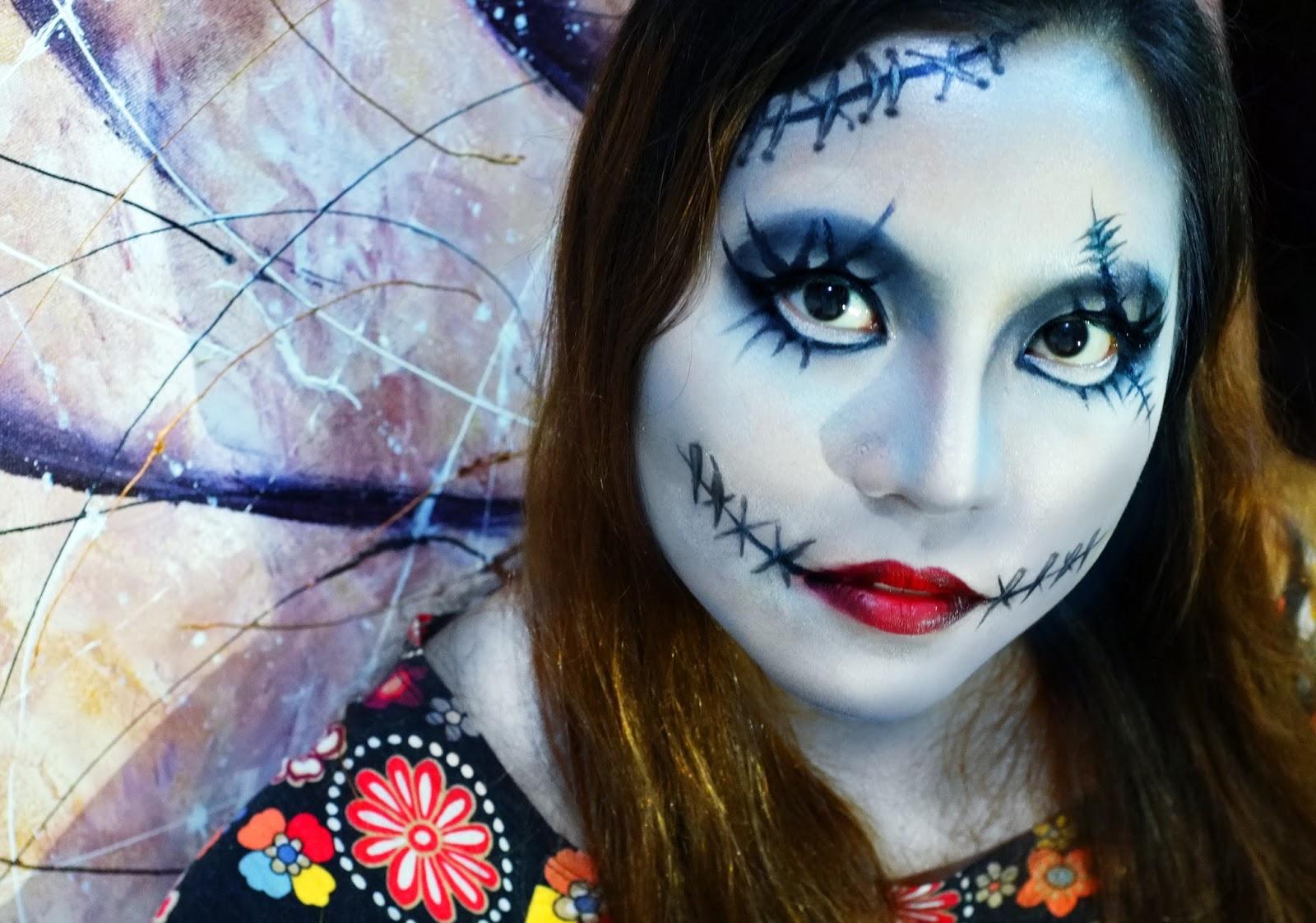 How To Do Sally Makeup - Emo Makeup