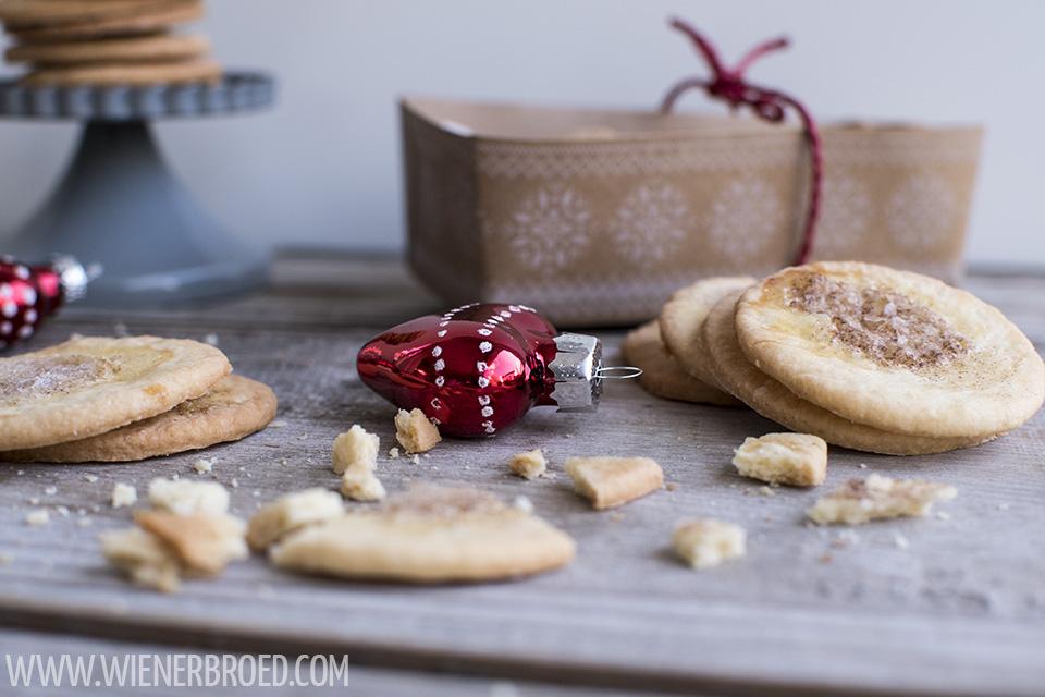 Jødekager - dänische Zimt & Zucker-Kekse von Wienerbroed.com für The Sugarprincess Christmas Cookie Club 2017