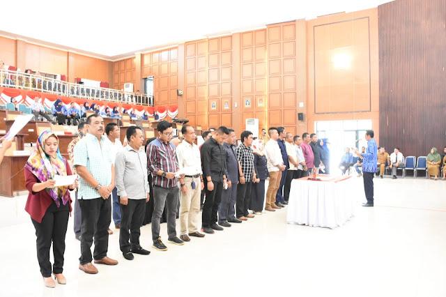 Begini Persiapan DPRD Sinjai Jelang Pengambilan Sumpah Jabatan Anggota DPRD 2019-2024