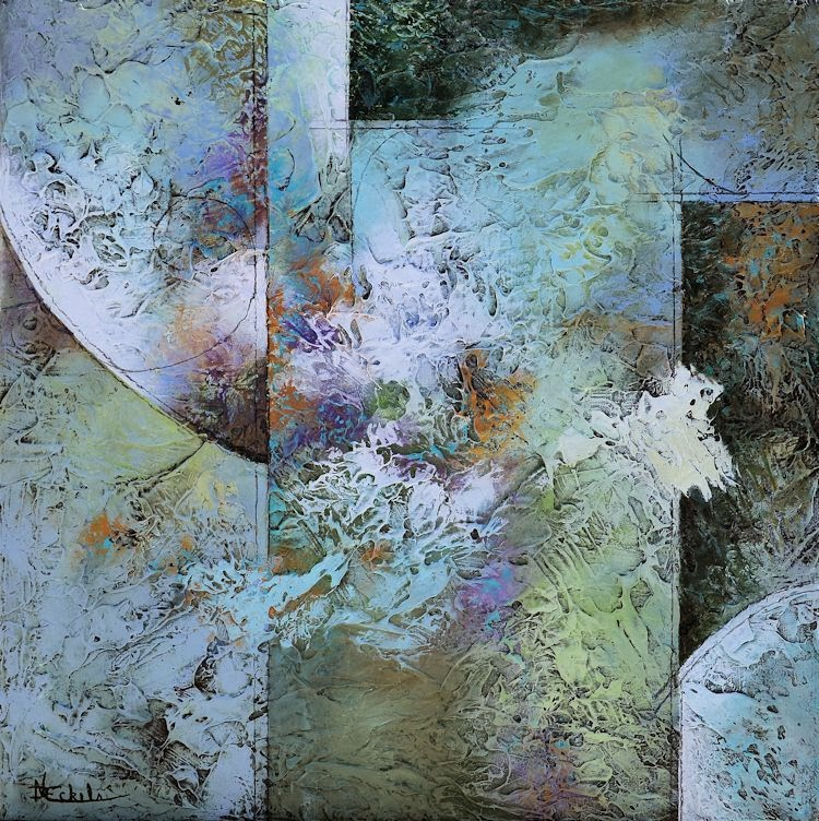 No Day Without Art by Nancy Eckels: Large abstract ...