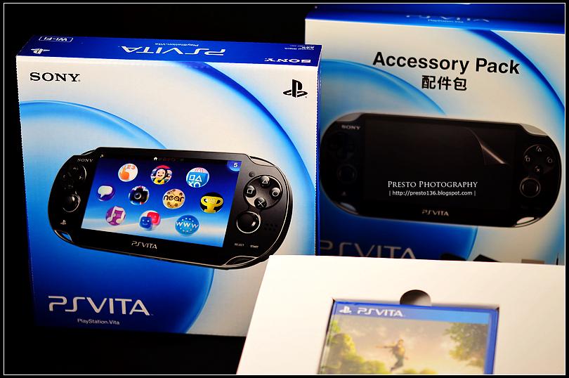 小豬電影院 -..-: 【分享】次世代掌上型遊戲機 - SONY PlayStation VITA 開箱