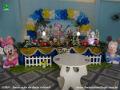 Tema infantil Disney Baby - mesa decorada infantil para festa de aniversário - decoração temática infantil