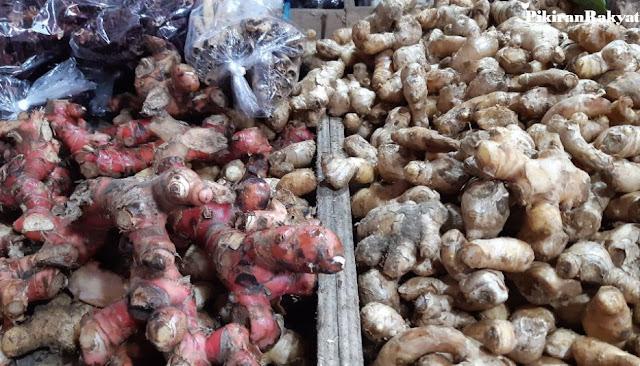 Disebut Bisa Cegah Corona, Jahe Merah Diburu hingga Harga Lebih Mahal dari Daging Ayam dan Stok Mulai Kosong di Pasar Tradisional Cimahi