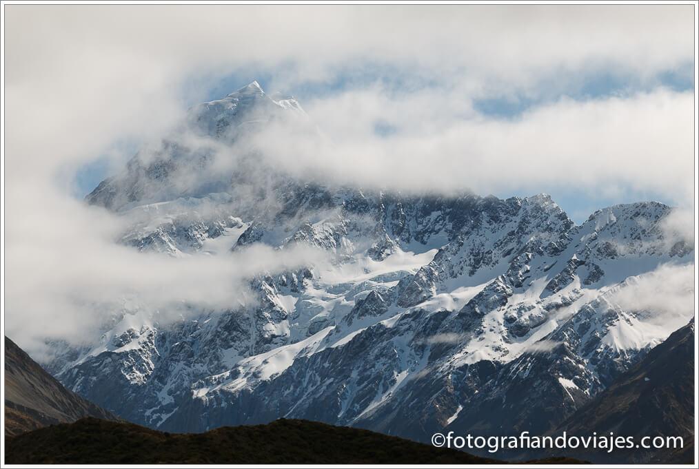 Monte Cook  Aoraki en Nueva Zelanda