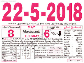 Tamil And English Newspaper 22-05-2018