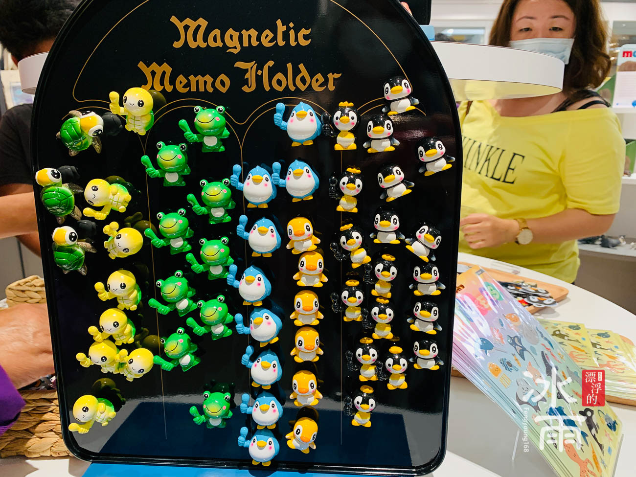 X fun Xpark水族館禮品專賣店 必買造型磁鐵