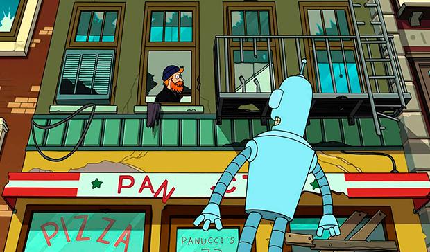 Descargar Futurama El Gran Golpe de Bender Mega y Mediafire