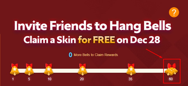 Cara Mendapatkan Skin Epic dan Spesial Mobile Legends Token Snowflake