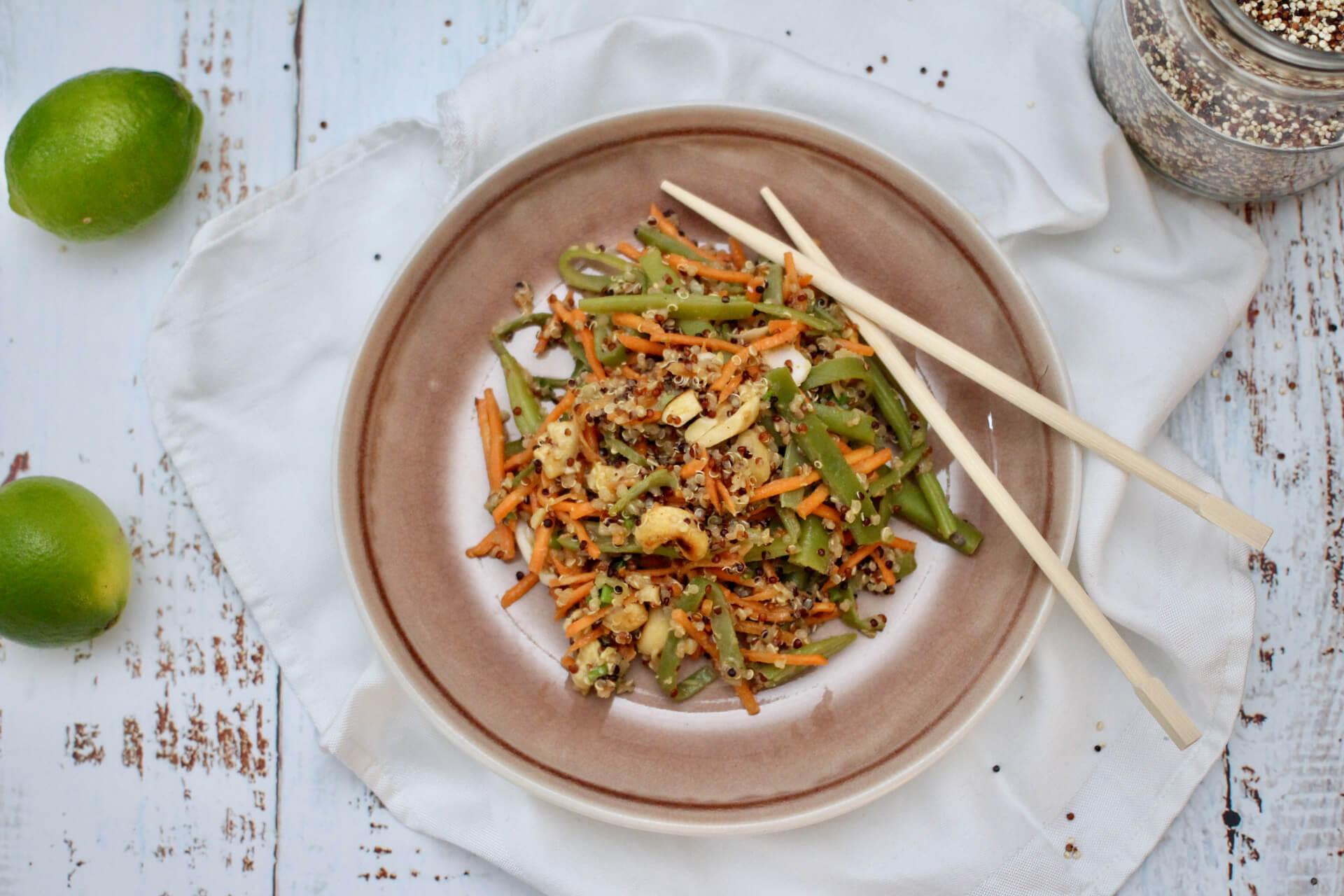 Asiatischer Cashew-Thai-Salat