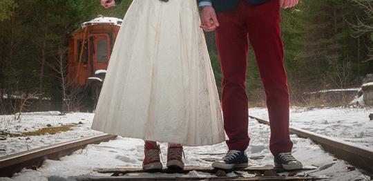 Zapatillas de novia cómodas para después del baile