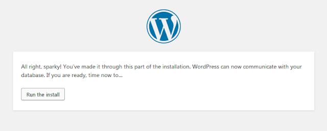 Cara Memasang Wordpress Di XAMPP 21