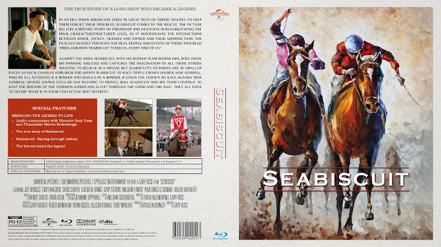 Seabiscuit Bluray Cover