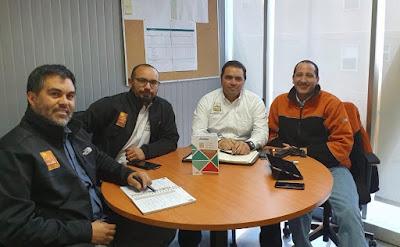 Supervisores de Caserones trabajan activamente en asambleas y reuniones