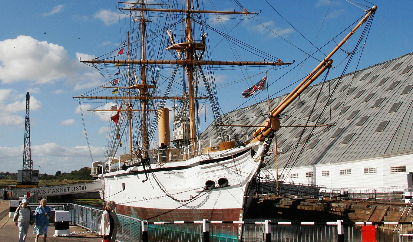 Cruise Destination Chatham And The Medway Towns