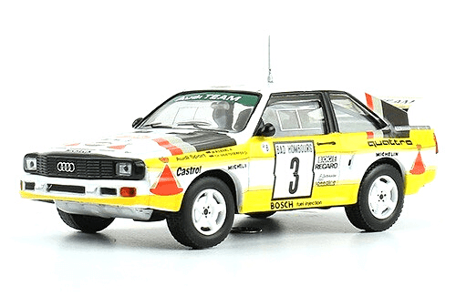 collezione rally monte carlo Audi Sport Quattro 1985 Röhrl - Geistdörfer