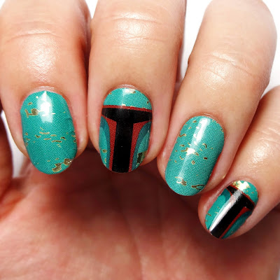 Boba Fett Nails
