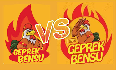 Polemik Merek Dagang Geprek Bensu vs I am Geprek Bensu