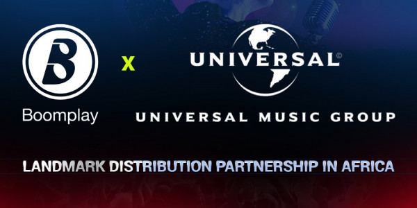 BoomBoomplay and Universal Music Group announce landmark distribution partnership in Africa