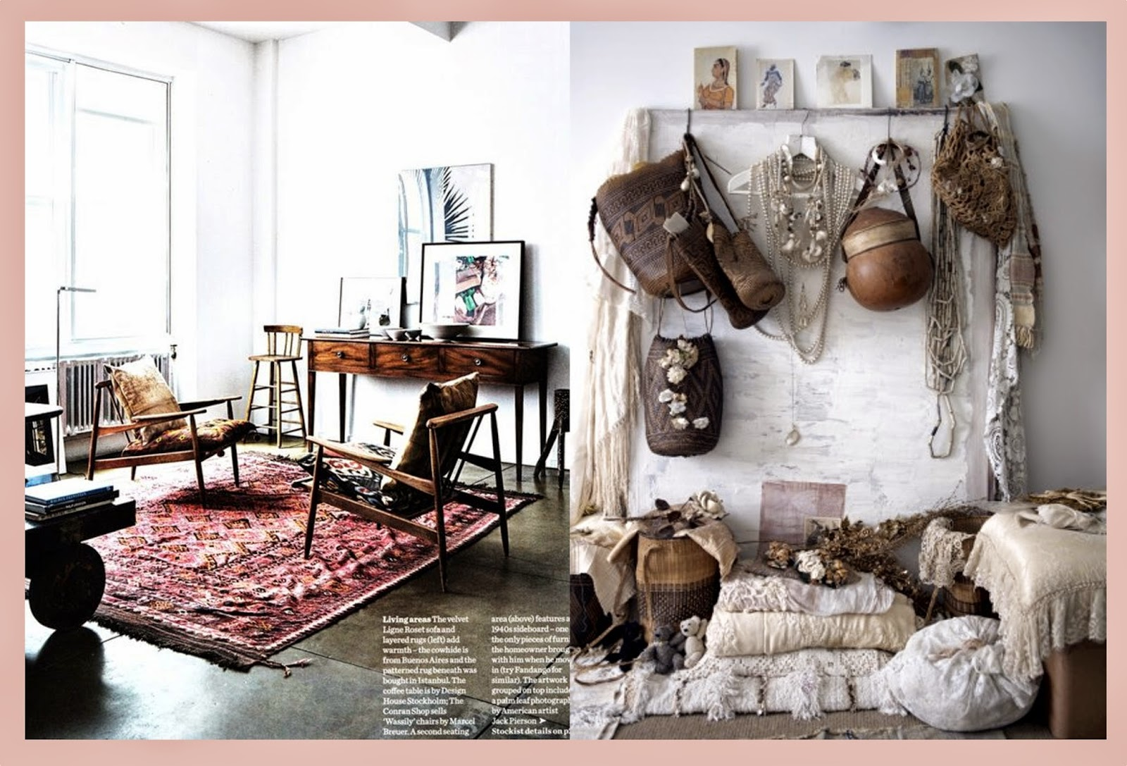 Decoration Interieur Boheme When Shabby Loves Chic Deco Un Interieur Boheme