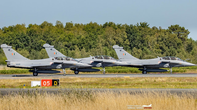 Three Rafale aircraft reached India by traveling non-stop from France, fuel was filled 3 times during the flight
