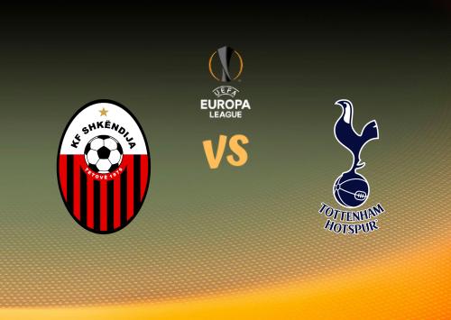 Shkendija vs Tottenham Hotspur  Resumen