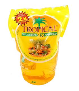 Harga minyak goreng tropical