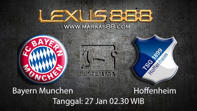 PREDIKSIBOLA - PREDIKSI TARUHAN BOLA BAYERN MUNCHEN VS HOFFENHEIM 27 JANUARI 2018 ( GERMAN BUNDESLIGA )