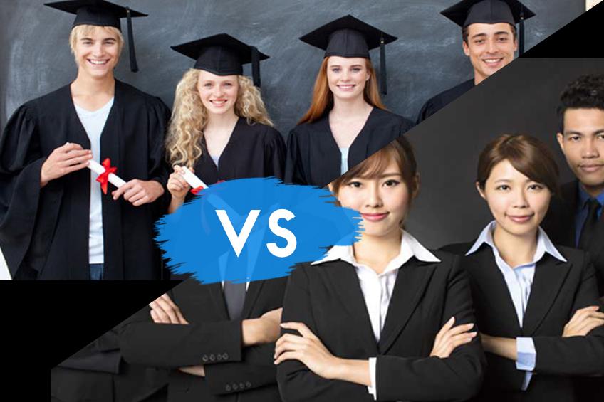 Fresh Graduate vs Berpengalaman