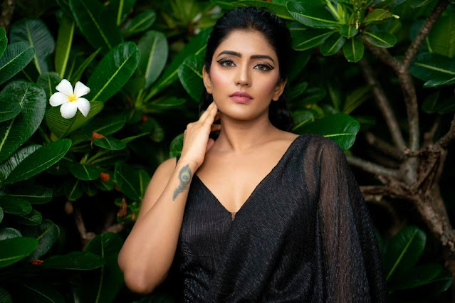 Eesha Rebba Hot and Bold Photoshoot Stills in Black Dress Actress Trend