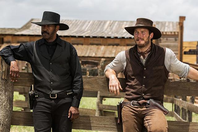 Denzel Washington şi Chris Pratt în remake-ul The Magnificent Seven